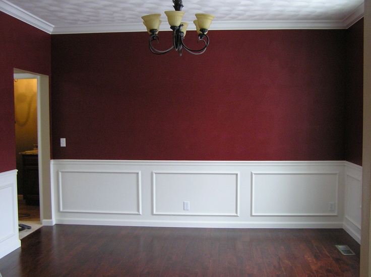 Panel moulding dining room east peoria il dining rooms for Dining room molding panels