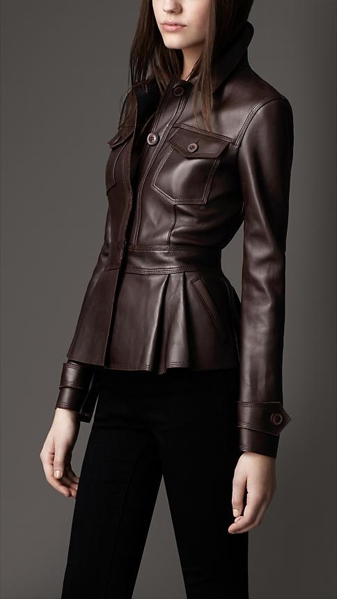 Leather jacket, yeah!