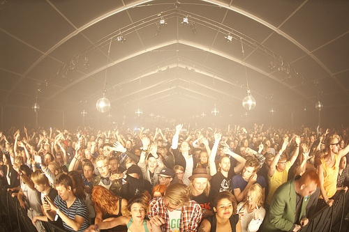 Black Tent, Flow Festival 2012, via Flickr