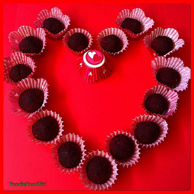 Happy ❤️ Day. RAW Beet Chocolate Kisses