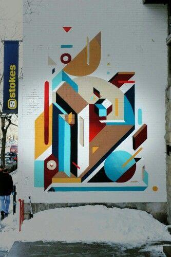 Nelio - street art Montreal - rue saint denis mars 2015