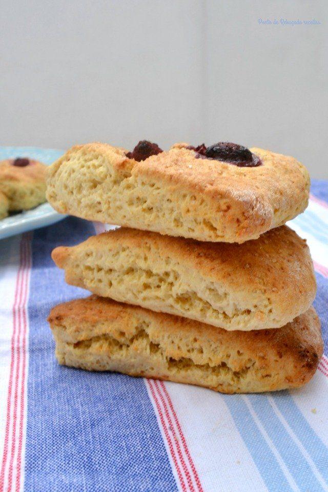 Scones de buttermilk (e framboesa) - http://gostinhos.com/scones-de-buttermilk-e-framboesa/