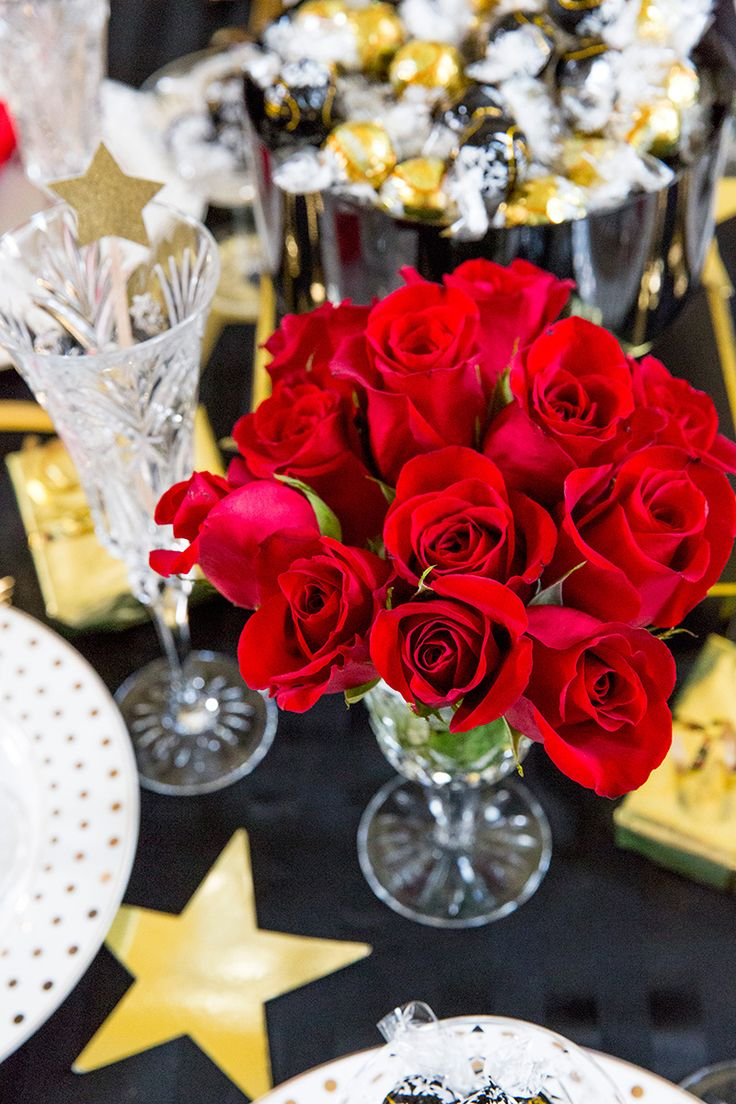 Birthday gift bags 5 cooking for oscar - Golden Globes Award Show Party Tablescape