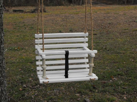 Childs swing children toddlers handcrafted swing by Quarrydesigns, $48.00