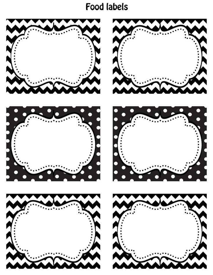 printable baking labels free printable blank labels labels templates ...