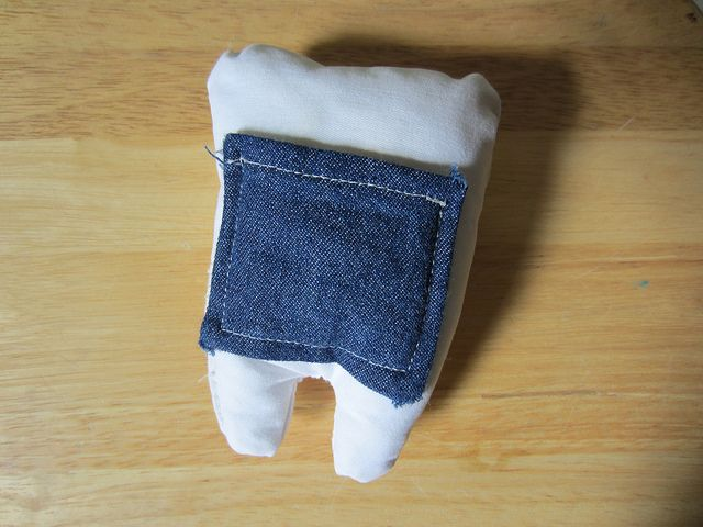 tooth fairy pillow with pocket | Flickr - Photo Sharing!