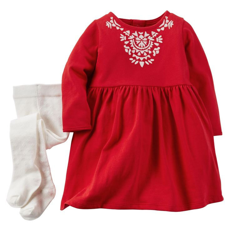 Baby Girl 2-Piece Dress Set | Carters.com