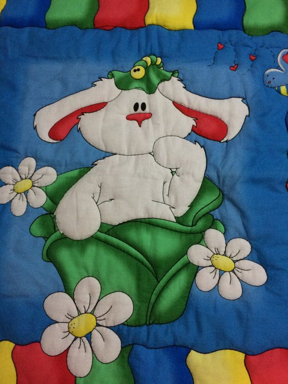 Buggles the Bunny by CozeeQuilts on Etsy