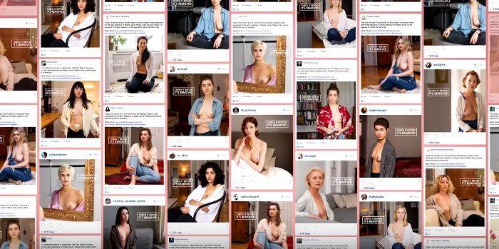 乳首は露出できるが、削除されるというデジタルメディア特性を活用したPR施策  【カンヌサイバー部門ゴールド】SNSヌード検閲と全面戦争!? 大成功を収めた独・乳がん啓発キャンペーン | AdGang