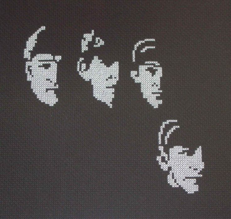 Beatles Early Years Counted Cross Stitch Collection