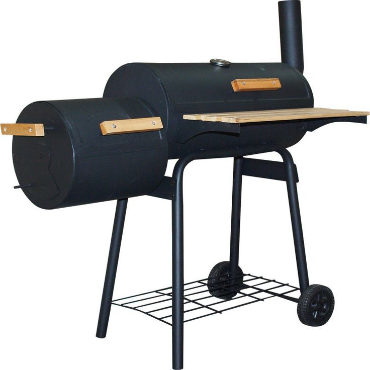 BBQ Grill Holzgrill Kohlegrill Smoker Grillwagen Barbecue Räucherofen