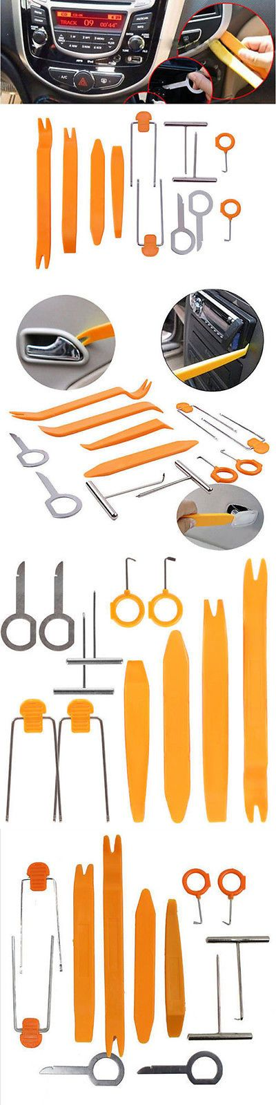Car Audio Video And GPS: 12Pcs Professional Car Auto Dismantle Tools Set For Gps Video And Audio System BUY IT NOW ONLY: $3.79