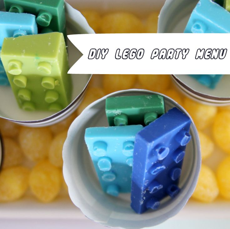 Best 25+ Lego Party Foods Ideas On Pinterest