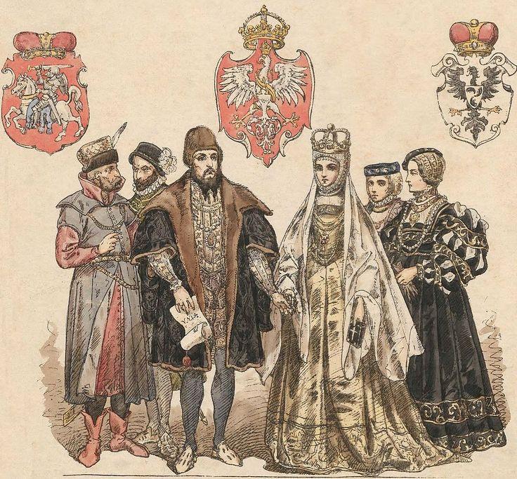 Zygmunt August i Barbara Radziwiłłówna z dworem, Jan Matejko