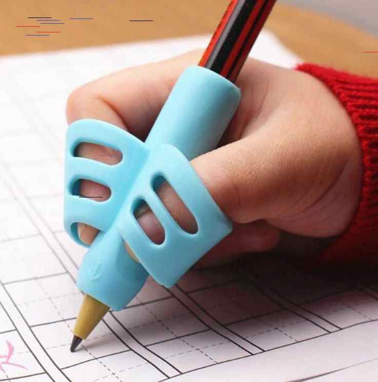 3Pcs//Set Children Pencil Holder Pen Writing Grip Posture Correction Tool New JT