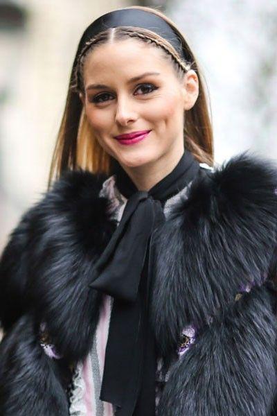 La socialité marca una nueva tendencia de usar accesorios en el pelo