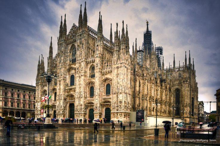 25лучших достопримечательностей мира.Миланский собор (Дуомо), Милан, Италия