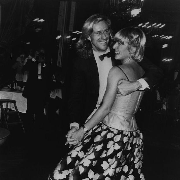 Björn Borg balla con la tennista romena e sua futura moglie Mariana Simionescu, nel 1980