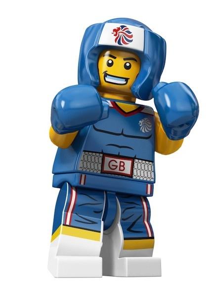 Lego 2012 Olympic Team GB Boxer minifig