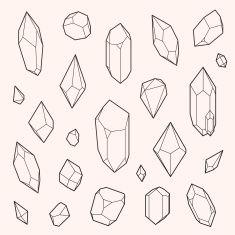 crystal illustration geometric - Google Search