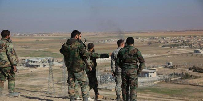 The Syrian army regains control over Tal Alloush village in Aleppo Countryside – Syrian Arab News Agency