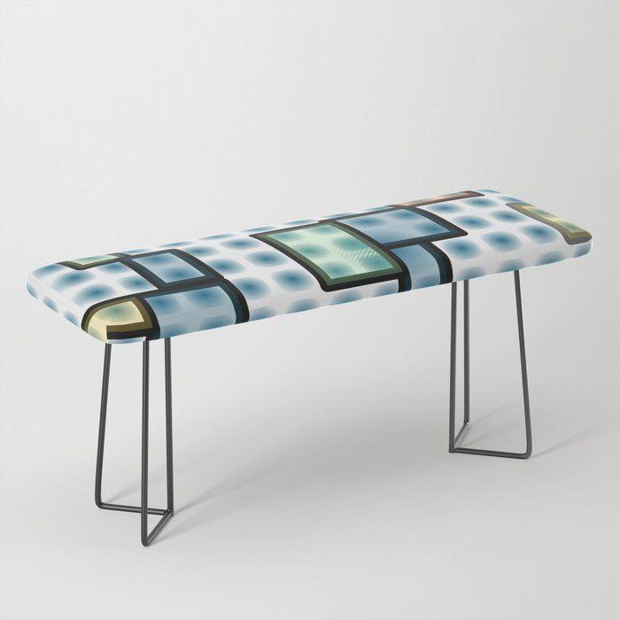 Zappwaits Glass Bench Bench Bank Furniture Einrichtung Mobel Facility Fun Design Zappwaits Society6 Mobel Furniture Furniture Design