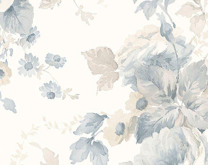 Modern Floral Wallpaper Texture