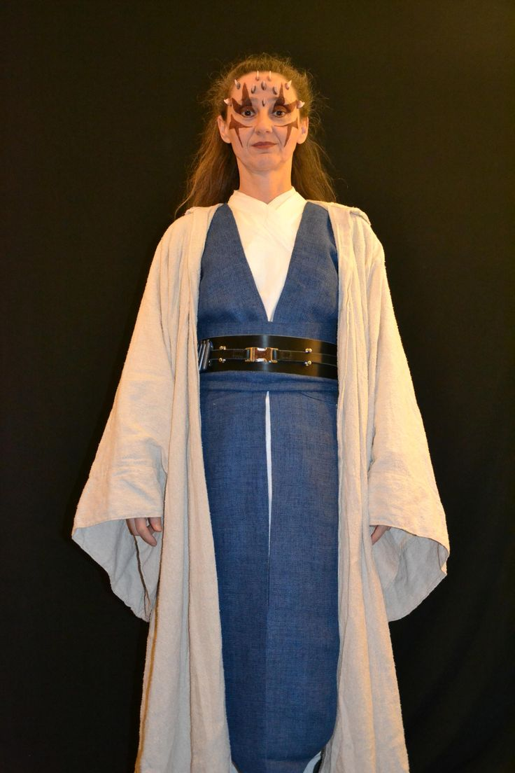 Rebel Legion  Viewing costume  Surreay (white blue)  sc 1 st  Pinterest : female jedi costume  - Germanpascual.Com
