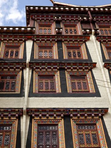 Attractive Buddhist Monastery, Songzanlin Temple, Shangri La (Zhongdian), China Good Looking