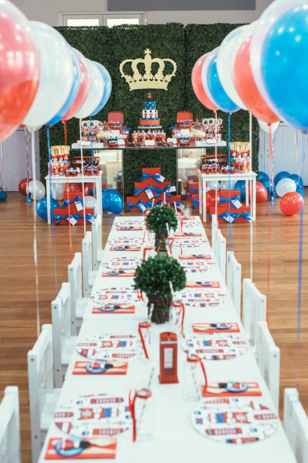 Best King And Queen Party Images On Pinterest Birthday Party - Childrens birthday party ideas in london