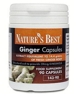 Ginger Capsules 14,400mg