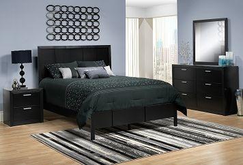 Bedroom Furniture-Astro 5 Pc. Queen Bedroom Set