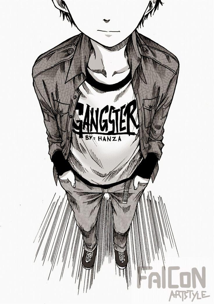 Baca Komik Percuma - Gangster Oleh Hanza