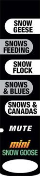 ALTUS BRANDS LLC Mini Phantom Snow Goose Sound Stick, EA