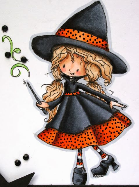 Paper Perfect Designs: Tiddly Inks Creepy and Cute Challenge