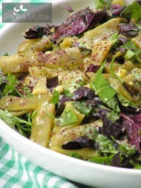 Reyhanlı, Fesleğenli Taze Fasulye Salatası