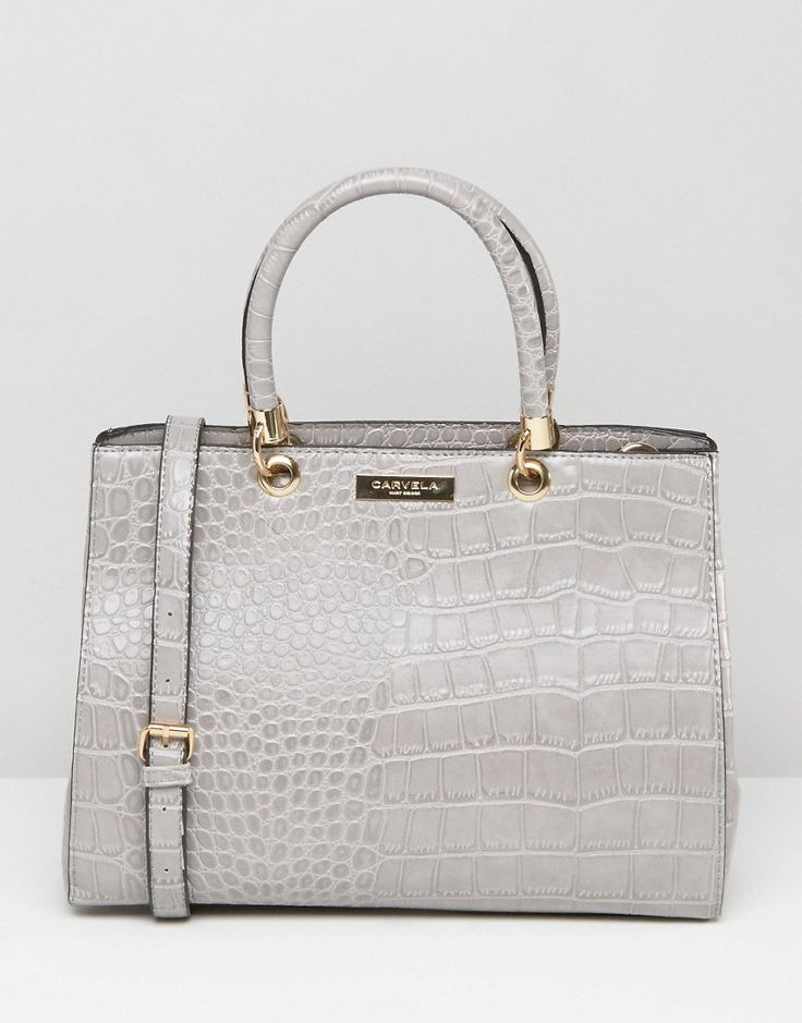 Image 1 of Carvela Tote Bag In Mock Croc