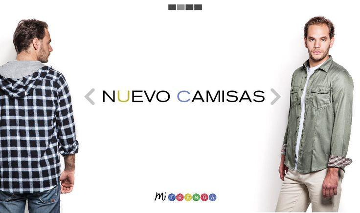 Con la segunda parte de nuestra colección Otoño-Invierno '14 entraron un montón de nuevas camisas para hombre! No te las pierdas!  http://www.mitrenda.com/hombre/camisas.html