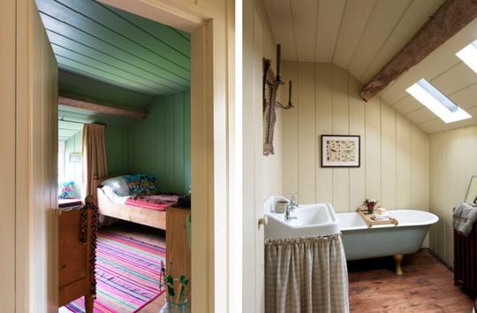 дом,бывшая ферма,самобытный интерьер,окружающая природа,деревенский дом,белые стены,балки