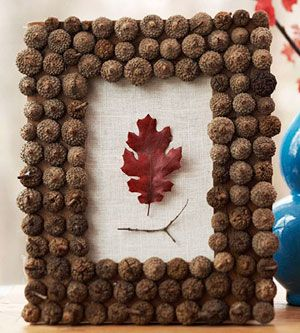 20 Fall Decorating Ideas With Using Dry Leaves And Fruits | Shelterness