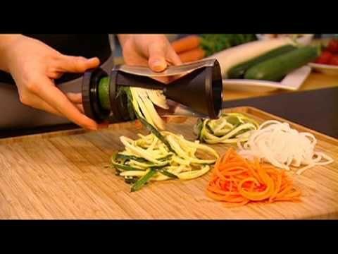 Gefu Spirelli Spiral Veggie Slicer... make veggie noodles!