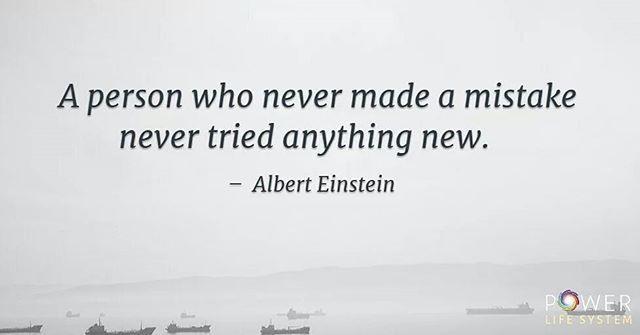 Mistakes are inevitable in life.  #quoteoftheday #life