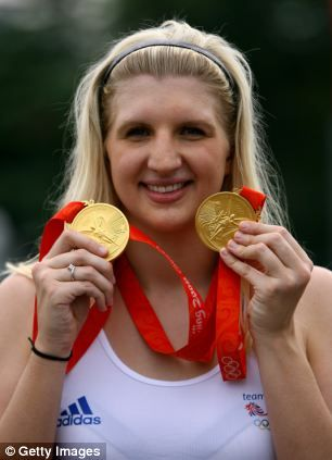 Rebecca Adlington 24 won two gold medals at the Beijing Olympic games in 2008