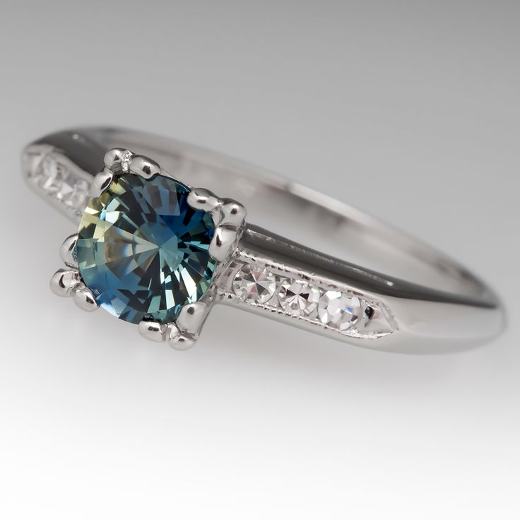17 Best ideas about Sapphire Engagement Rings on Pinterest