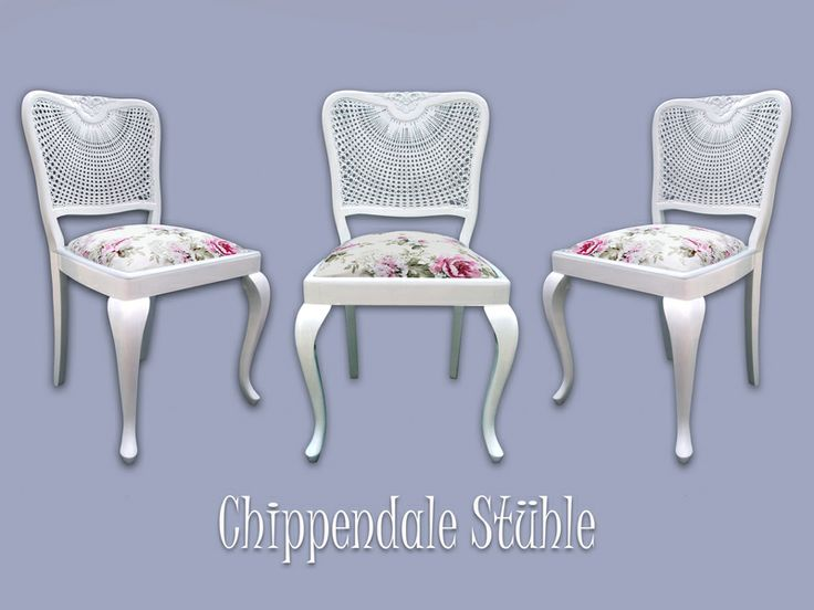 Chippendale Stühle von Creative Shabby Style auf DaWanda.com