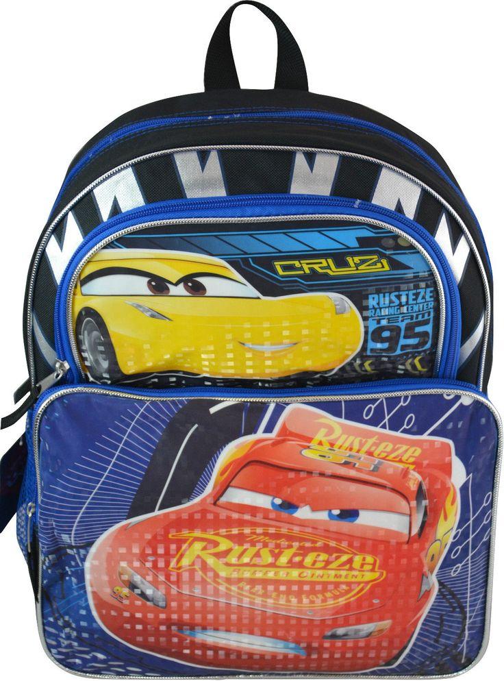 "Wholesale Backpacks Cars 3 16"" Cargo Backpacks - 48 Units"