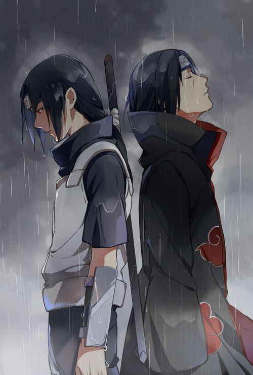 ANBU Itachi and Akatsuki Itachi