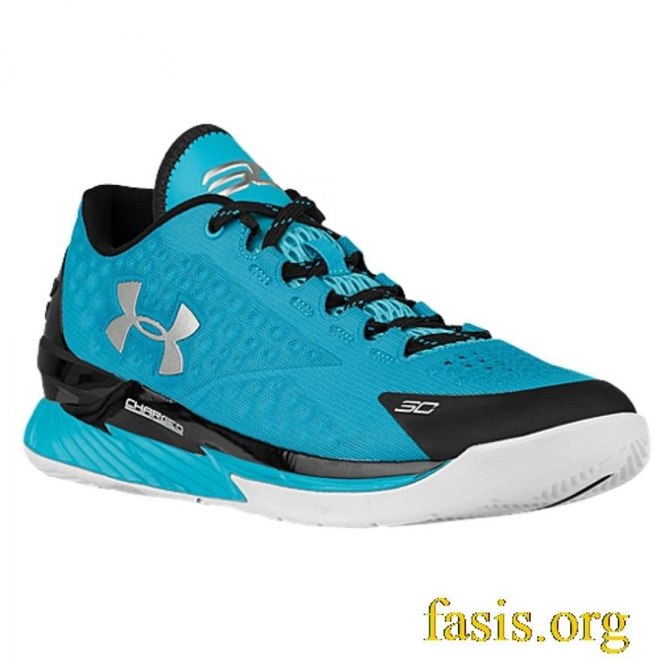 Under Armour Ua Curry 1 One Low Pacific Blue Metallic Silver � Stephen  Curry ShoesStephen ...