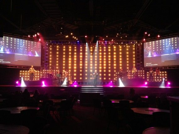 Light bulbs on wood pallets & 77 best Church stage and lighting ideas images on Pinterest ... azcodes.com