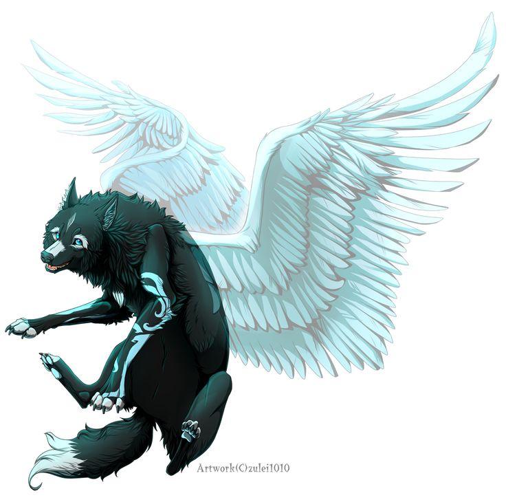 фото человека волка с крыльями надеемся, что